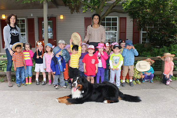 A group photo at the end of the school year at Hazel Creek Montessori
